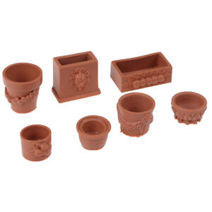 7-Teile-satz-1-12-miniatur-harz-landschaft-blumentopf-puppenhaus-garten-fuer-CL