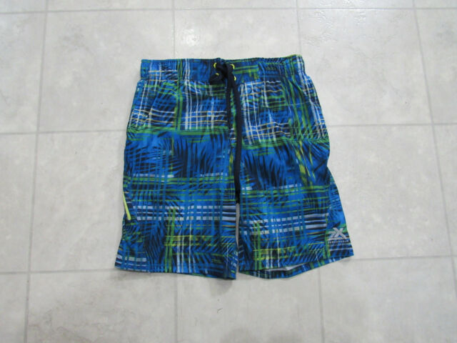 acae0aac7f Mens ZeroXposur Blue Stretch Swim Shorts Trunks Swimsuit UV Size Small