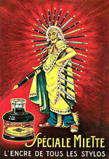 Art Ad Spéciale Miette Indian ink for Fountain pens pen Deco Poster Print