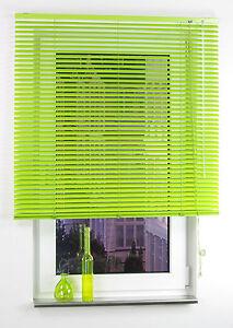 alu jalousie aluminium lamellen fenster rollo gr n apple green 60 cm x 160 cm ebay. Black Bedroom Furniture Sets. Home Design Ideas