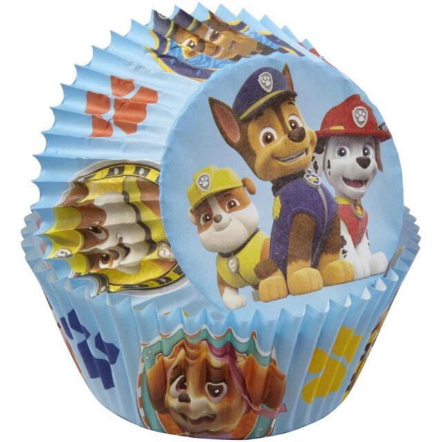 50 Standard Size Cupcake Liners Wilton Nickelodeon PAW Patrol Baking Cups