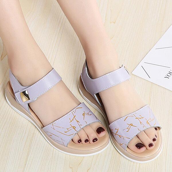 Sandalen elegant holzschuhe keilabsätze 3 cm flieder komfortabel simil leder