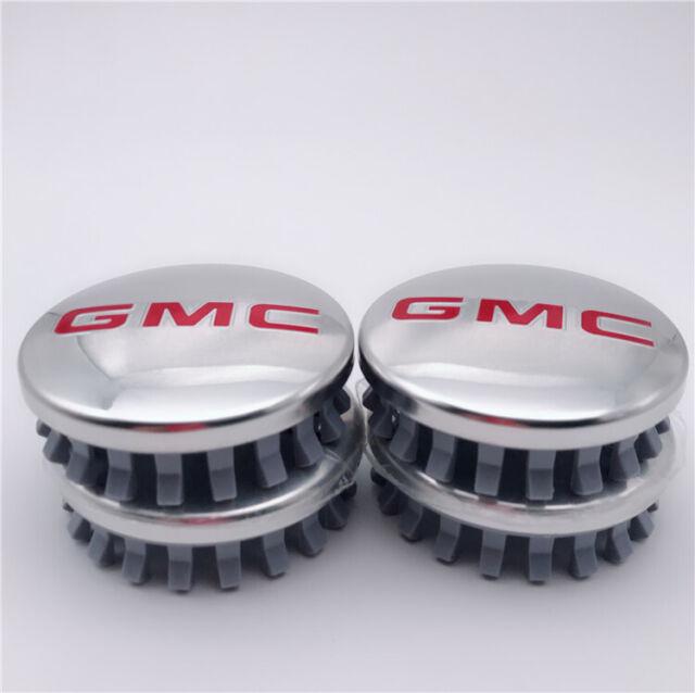 """Chrome Wheel Center Hub Caps cover GMC 4pcs for  Denali Sierra Yukon 83MM 3.25/"""""""