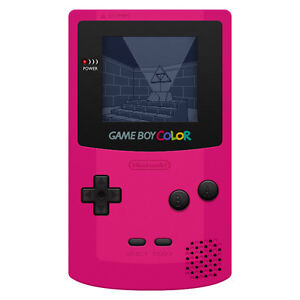 Gameboy handheld console game on video game consoles