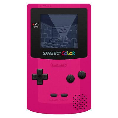 Nintendo Game Boy Color Pink/Red Handheld System