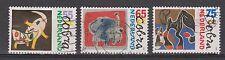 NVPH Nederland Netherlands 1408 - 1410 used Moderne kunst COBRA beweging 1988
