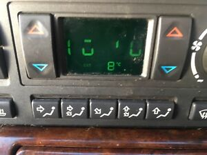 Range Rover P38 HEVAC Heater Display Zebra Connector Repair Ribbon
