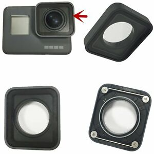 1dadb95ec740 Details about Aluminum Lens Front Cover Glass Lens Protector for GoPro Hero  5 6 Camera Black