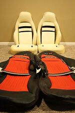 1997-2004 C5 Corvette Genuine Leather Sport Seat covers & Seat Foam Sets