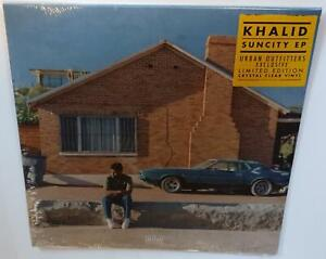 KHALID-SUNCITY-EP-2019-BRAND-NEW-SEALED-LIMITED-EDITION-CLEAR-VINYL-LP