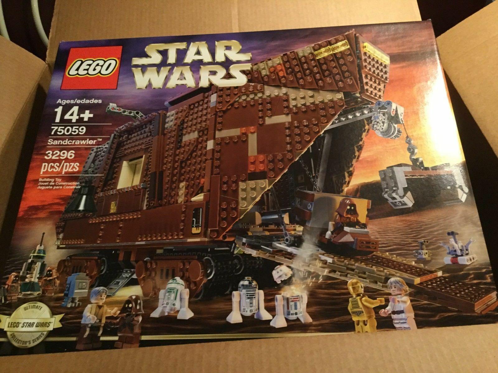 LEGO STAR WARS 75059 SANDCRAWLER RETIrot BRAND NEW