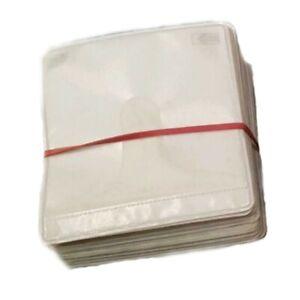 100-x-Sleeve-Schutzhuelle-Folie-Huellen-Leer-Huelle-fuer-Blu-Ray-CD-DVD-039-s-Rohling