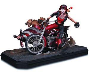 Dc Collectibles Gotham City Garage Harley Quinn Deluxe