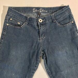 Women-039-s-Yom-Yom-Capri-Denim-Stretch-Jeans-Size-5-27