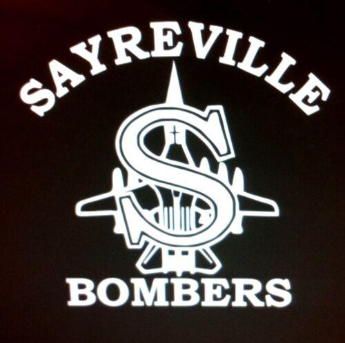 Sayreville Bombers Vinyl Decal