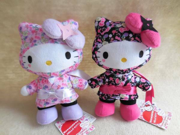 Hello Kitty Ninja Juegos con disfraces Muñeco De Peluche Sanrio Jp limitada con dibujo Kawaii De Peluche Raro Nuevo