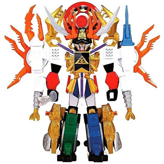 Power rangers samurai deluxe dx gigazord action - figur