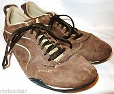 KALENJI Brown Suede Leather Casual Athletic Running SHOES Sneakers Men's 12