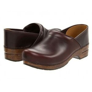 Dansko Professional Clog Espresso Oiled Full Grain Womens sizes 36-42/6-12 NEW!!