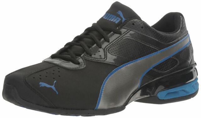 info pour 109d6 89a87 PUMA Men's Tazon 6 FM Puma White Black Silver Running Shoe Sneakers 7-14