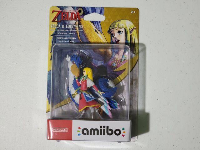 Zelda and Loftwing Legend of Zelda Skyward Sword Amiibo US Seller Free Shipping