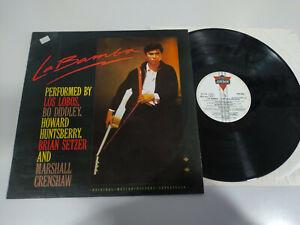 "Die Bamba Soundtrack Banda Sonora 1987 Spain Edition - LP vinyl 12 "" VG/VG 3T"