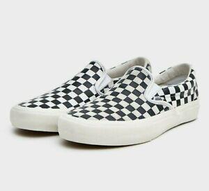 31e861582a Vans Vault x Engineered Garments Classic Slip-On LX White Black size ...
