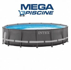 intex 28332 549x132 swimming pool ultra frame stahlwand schwimmbad sandfilter ebay. Black Bedroom Furniture Sets. Home Design Ideas