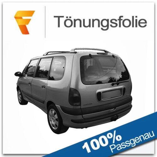 Passgenaue Tönungsfolie Renault Espace 3 III Bj 1997-2002