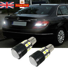2PS FOR MERCEDES C CLASS W204 COOL WHITE CREE LED REVERSE LIGHT BULBS ERROR FREE