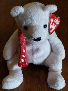 """Ty Beanie Baby Teddy Bear """"Holiday"""" 2000"""