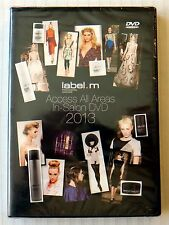 Label.M Haircare Access In-Salon DVD 2013 ~ New ~ Rare labelm Hair Movie Video