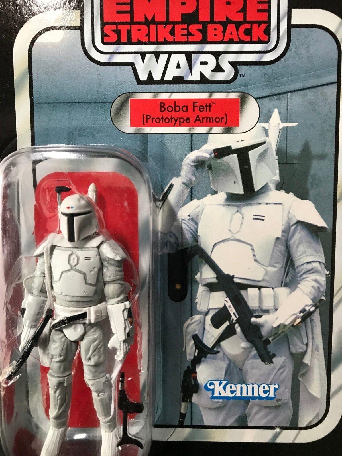 Hasbro Boba Fett Prougeotype Armor  VC61 Star Wars Vintage Collection Action Figure  mieux acheter