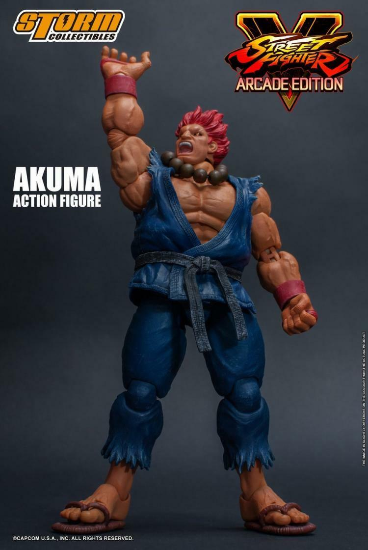 In magazzino scala 1 12 6in STORM  giocattoli STREET FIGHTER IV ARCADE edizione AKUMA  economico in alta qualità