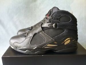 f41304903d2087 Nike Air Jordan 8 Retro OVO Drake Black Metallic Gold AA1239-045 ...