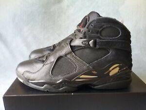799ddd661807 Nike Air Jordan 8 Retro OVO Drake Black Metallic Gold AA1239-045 ...
