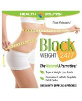Block Weight - Reduce Your Weight - White Kidney Beans - 2 Pack 60 Patches