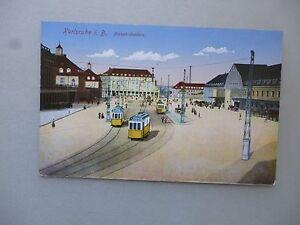 Ansichtskarte-Karlsruhe-i-B-Bahnhofsplatz-1916-Nr-578