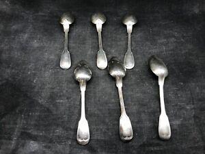 Lot-de-six-cuilleres-a-soupe-en-metal-argente-moka-cafe-cuisine-vintage