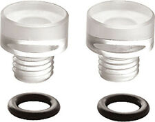 26-113 Holley Clear Fuel Bowl Sight Plugs ORings Carb Carburetor 2 PACK A45X1
