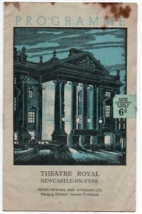 Theatre-Royal-Newcastle-The-Student-Prince-Vintage-Programme-1951