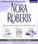 Nora Roberts Three Sisters Island CD Collection: Dance Upon the Air, Heaven and Earth, Face the Fire by Nora Roberts (CD-Audio, 2014)