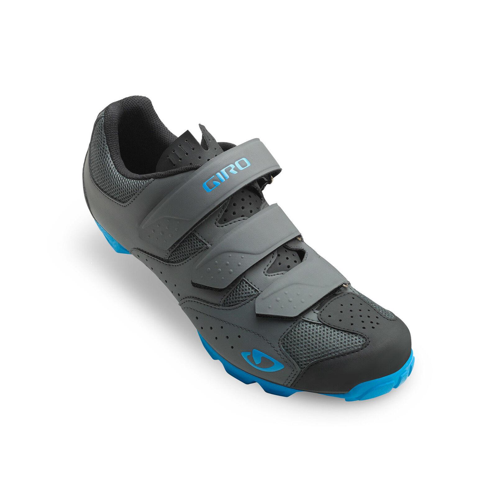 Giro Carbide Rii MTB Vélo Chaussures Gris/Bleu 2019 2019 2019 308e03