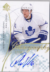 09-10-SP-Authentic-Phil-Kessel-50-Auto-Chirography-Maple-Leafs-Penguins-2009