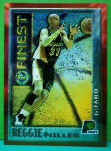 Reggie Miller insert card Mystery 1995-96 Topps Finest #M14