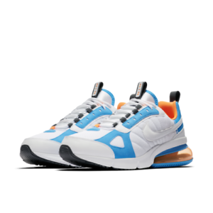 timeless design a817b d15c9 Details about New Sz 11.5 Nike Men AIR MAX 270 FUTURA White Total Orange  Blue Heron AO1569-100