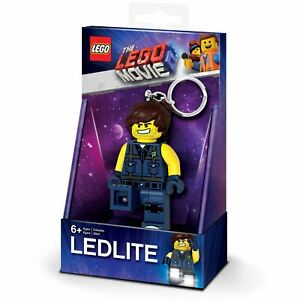 Officiel-Lego-Film-2-Rex-Dangervest-Porte-Cles-Torche-LED-Garcons-Enfants