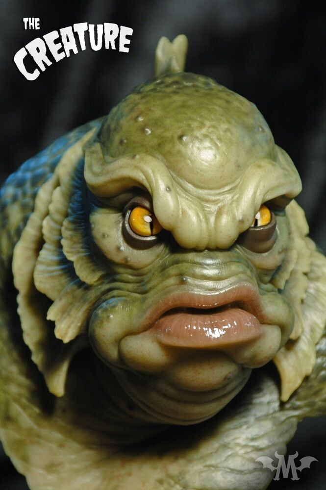 Andy Bergholtz The Creature Fully Painted Bust
