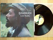 Ijahman - Love Smiles - Vinyl LP - UK 1991