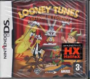 Looney-Tunes-Cartoon-In-Tournee-Nintendo-DS-NDS-Sigillato-5021290035935